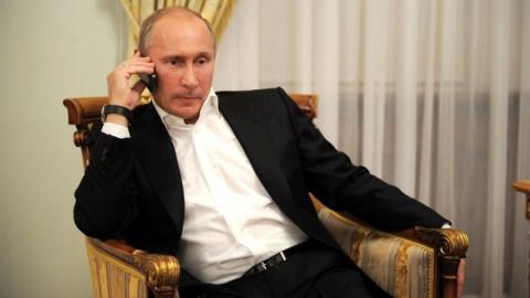 Путин проведет телефонные пе…