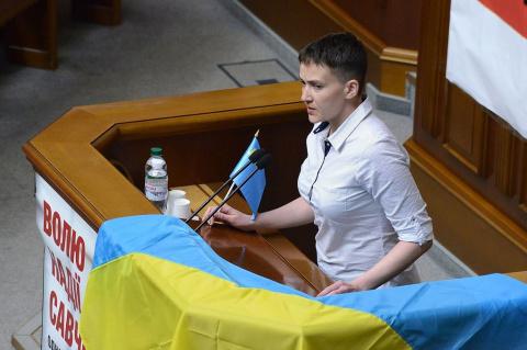 Савченко назвала «чмошниками…