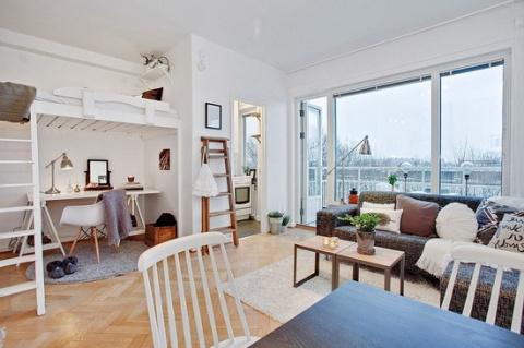 Дизайн квартиры 29 кв.м