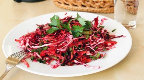 Очищающий салат «Метелка» - 5 лучших рецептов