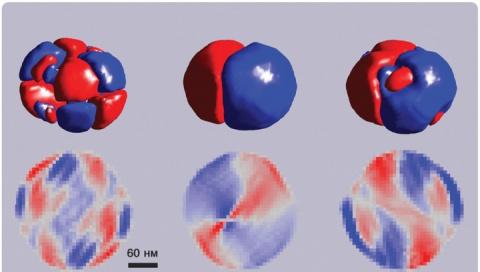 Внутренней структурой наночастиц можно управлять с помощью электрического поля