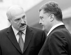 Лукашенко призвал Порошенко …