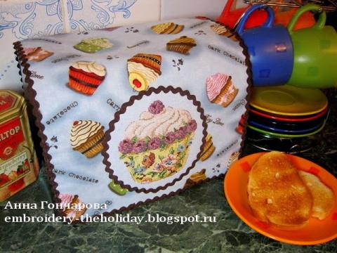 Салфетка на тостер «Pâtissie…