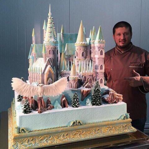 Потрясающий торт Рената  Агзамова