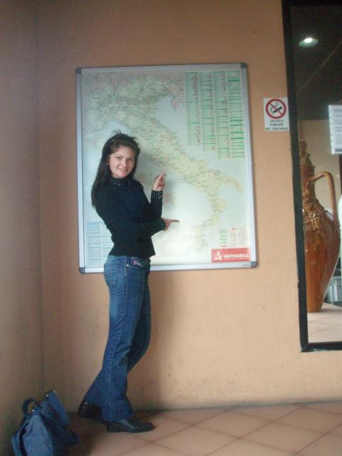 карта Италии)