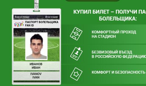 Для владельцев Fan ID Кубка конфедераций открылся безвизовый въезд в Россию