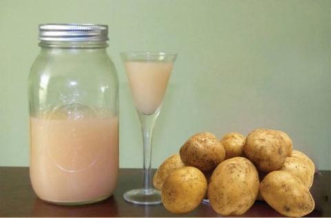 Лечение картофельным соком: …