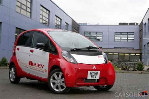 Mitsubishi отзывает 15 000 электромобилей