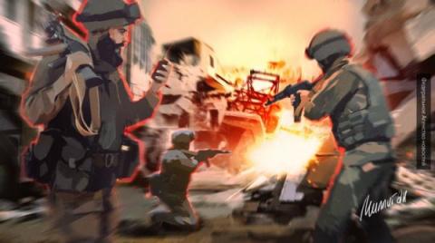 Битва на пяти холмах: сирийс…
