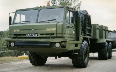 Специальное колесное шасси БАЗ-69092