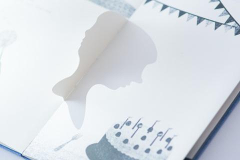 Интерактивная книга Подвижные силуэты