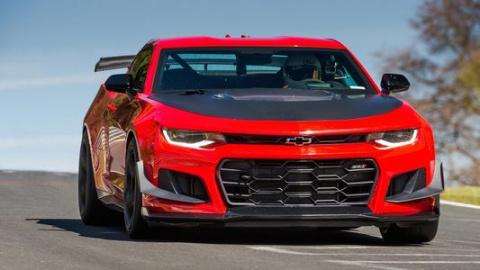Chevrolet Camaro на треке - …