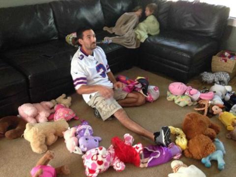 30 искренних фото, демонстрирующих, что значит быть отцом