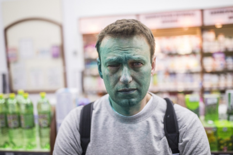 Навальный покидает Россию