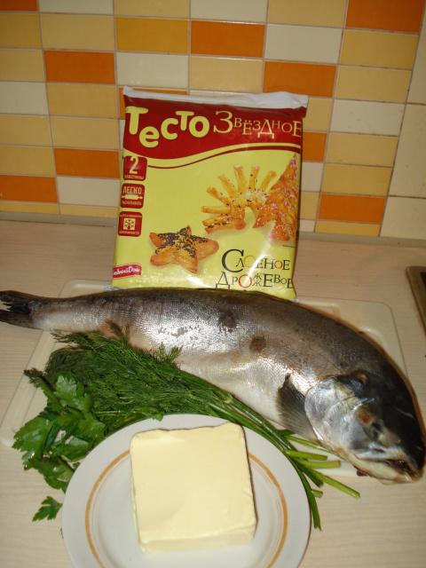 """Рыба в тесте """"Просто как в песне""""))))"""