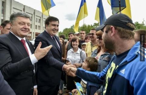 Саакашвили испугался: раскры…