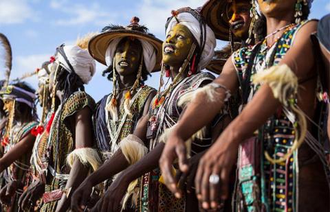 Самый пикантный конкурс красоты в Африке