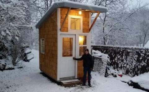 13-летний подросток построил…