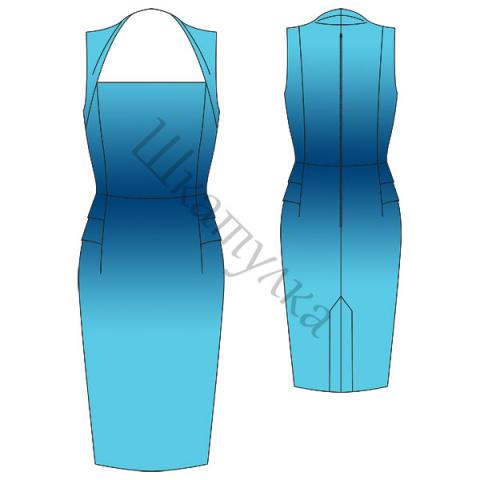 Элегантное платье и платье футляр