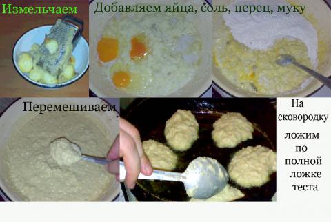 Украинские деруны традиционные.