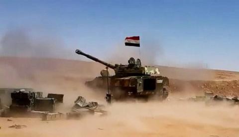 Сирийская армия продолжает у…