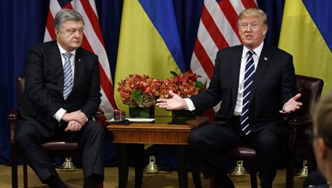 Трамп призвал Порошенко улуч…