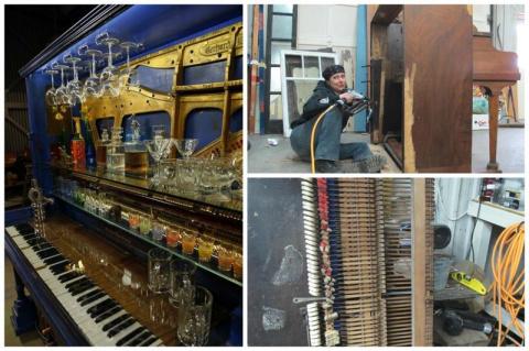 Не можете продать старое пианино? Только посмотрите, как его используют другие!