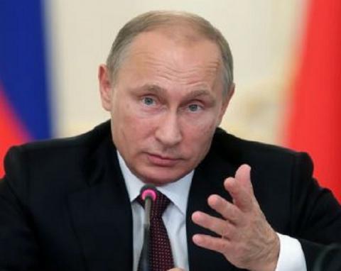 Реакция Путина на слова Клин…