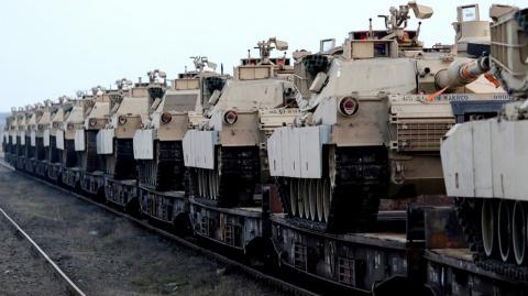 Почему американские танки колесят по Германии — немцам знать не положено. Freie Presse, Германия