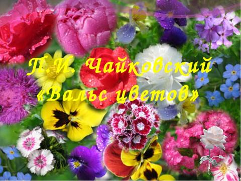 Чайковский – «Вальс цветов».…