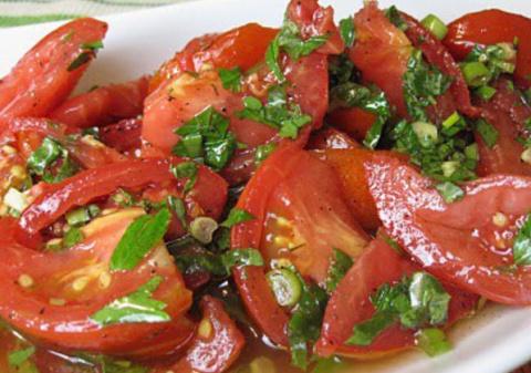 Блюдо обалденное — помидоры …