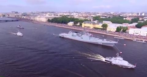 День ВМФ 2017 в Петербурге