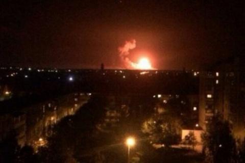 В ДНР рассказали, что произошло на военном арсенале в Калиновке