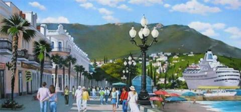 Крымский курорт стал лучшим …