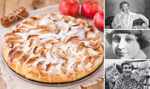Яблочный пирог — любимый десерт литераторов: три оригинальных рецепта