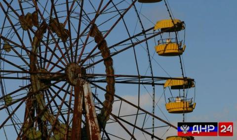 В Чернобыле запустили колесо обозрения (ВИДЕО)