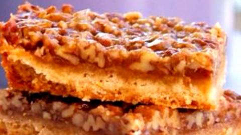 Пекановые батончики: рецепт …