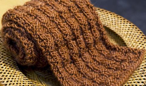 Разные варианты вязания спиц…