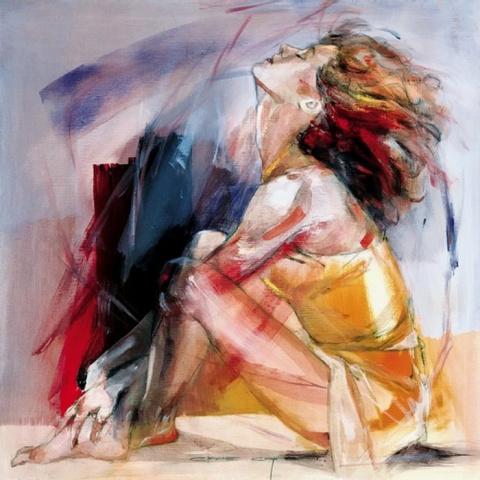Я одна тебя любить умею... Художница Christine Comyn