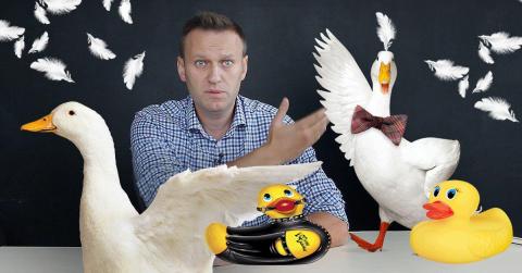 Новый ролик Навального умори…