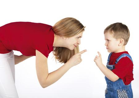 Общение с ребенком: правило …