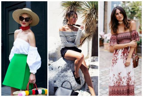 Советы блогеров: что надеть на шею с топом с открытыми плечами