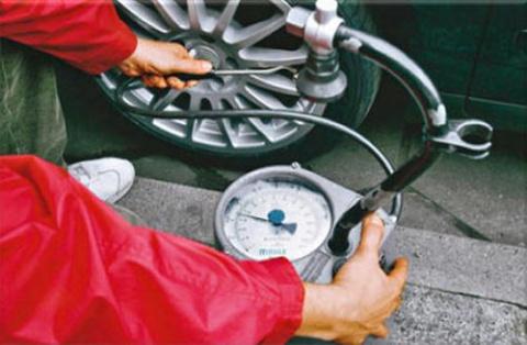 Выбор давления в шинах