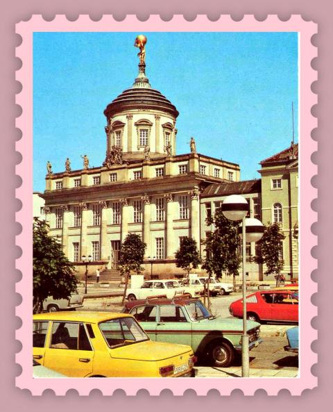 Города ГДР.