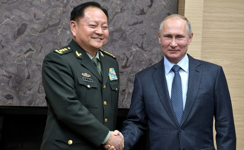 Встреча с замглавы военного совета Компартии Китая Чжан Юся