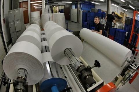 В Ленинградской области открыто производство материалов для респираторов и фильтров