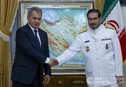 Иранский генерал Али Шамхани…