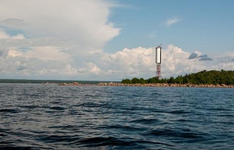 Финский залив: судак