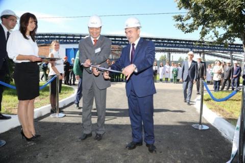 На заводе «Казаньоргсинтез» открыли новое производство гипохлорита натрия