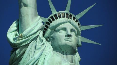 Статую Свободы временно закр…